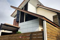 Pagar GRC Klasik Minimalis Model Woodplank