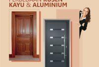 Perbedaan Kusen Kayu dan Aluminium
