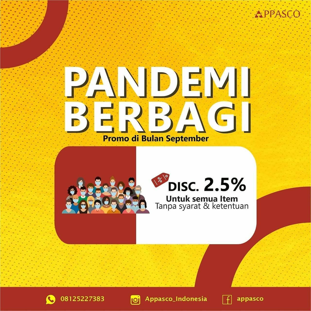 Promo Pandemi Appasco