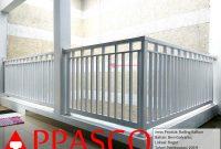 Railing Balkon Cantik Minimalis Lantai Atas