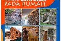Fungsi Batu Alam Pada Dekorasi Rumah