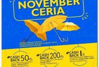 Hujan Diskon November Ceria