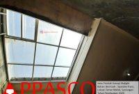 Kanopi Skylight Belakang Rumah di Sawangan