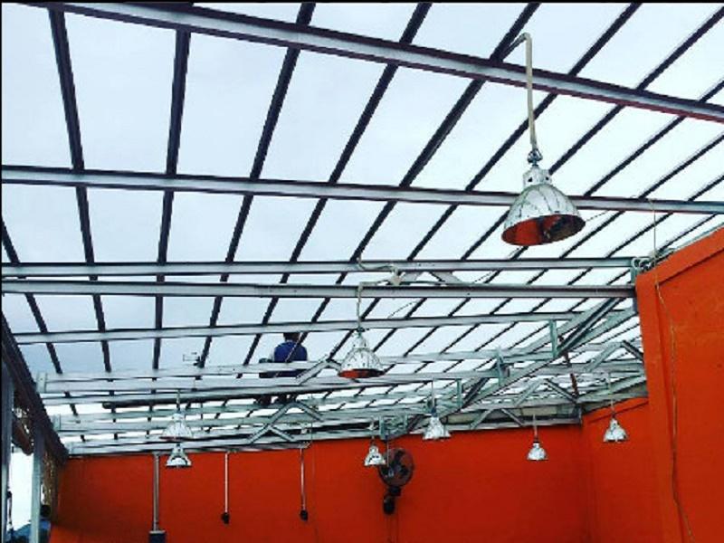canopy rangka baja ringan 2